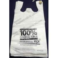 China D2W Carrier, t shirt bags, carry out bags, handy, handle bags, carrier bags, tesco, China factory