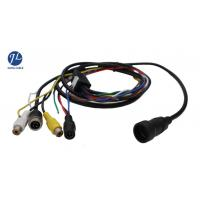 China 12V 24V 13 Pin Din Cable For Rear View System , Video And Power Cable Single Shielding on sale