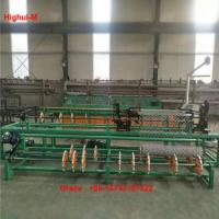 Buy cheap 2m Width Full Automatic Double Wire Feeding Diamond mesh fence Making Machine from wholesalers