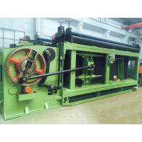 Buy cheap Spiral Coil Three Twisted Gabion Wire Mesh Machine with Max Weaving Width from wholesalers