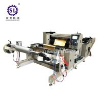 China Aluminum Foil Automatic Embossing Machine Roll to Roll Type With PLC Control factory