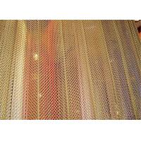 Buy cheap Aluminum Metal Mesh Curtains Screen Size Customized For Hotel And Restaurant from Wholesalers