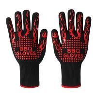 Buy cheap Anti Slip Heat Resistant Silicone Oven Gloves 28 Cm - 36 Cm Size CE Approved from Wholesalers