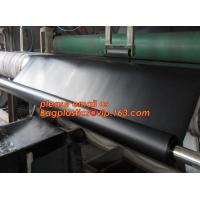 China geomembrane dam liner/ HDPE reinforced hdpe geomembrane fish farm pond liner for sale,dam liner 1mm hdpe geomembrane PAC factory