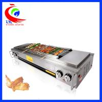 China Indoor Gas BBQ Grill Chinese Cooking Equipment Outdoor Gas Barbecue Oven factory