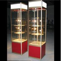 Buy cheap Multifunctional Delicate Store Display Case , Glass Display Cabinet With Lights from Wholesalers
