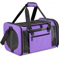 China Breathable Oxford Multi Functional Sport Bags 11 Inch Dog Carrier Cage factory