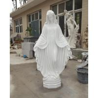 Buy cheap High quality stone carving and statues Virgin Mary statue for sale from Wholesalers