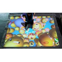 China Projection Type Trampoline Jump Game , 5500/3200 Lumen Theme Park Equipment factory