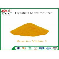 Buy cheap C I Reactive Yellow 3 Textile Reactive Dyes Colour Dye For Fabric from Wholesalers