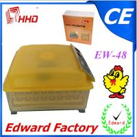 Buy cheap 48 chicken duck eggs incubator fully automatic mini incubator for sale CE from wholesalers