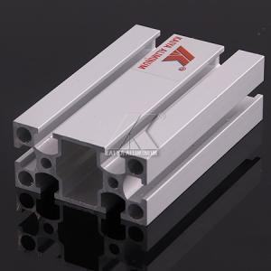 China T6 Temper Sand Blasting Aluminium , T Slot Profile 20x40mm Anodized Finish factory