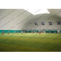 Buy cheap Temporary Huge White Inflatable Event Tent For Putdoor Football Sport Playground from Wholesalers