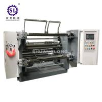 China SLFQ Paper Roll Slitter Rewinder Machine with Heavy Duty Structure factory