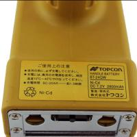 2800mah 7.2 V Nicd Battery , Yellow Topcon Bt 24q Rechargeable Battery Pack