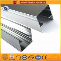 Buy cheap Machinery Polished Aluminium Profile Silver White High Surface Brightness from Wholesalers