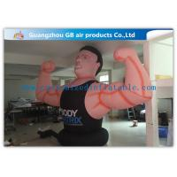 Buy cheap Air Man Inflatable Muscle Man Model Advertising Strong For Party , Club from Wholesalers