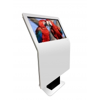 "China 3840X2160 49"" 500cd/m2 Interactive Touch Screen Kiosk For Lobby factory"