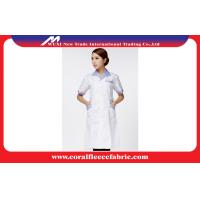 China White Custom Doctors Lab Coat Wholesale / Nurses Hospital Uniform for Women factory