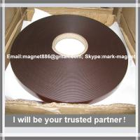 China Magnetic strip; Flexible rubber magnet strip  Магнитная лента 25,4 тип А и B с клеевым слоем Extra (Tesa) factory