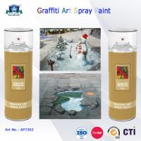 Buy cheap 400ml Canned Environmental Fast Drying Graffiti Spray Art Paint for Artist On Metal Wood from Wholesalers