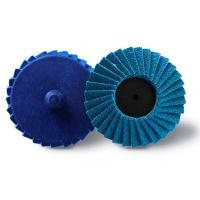 China Fine Grit  Mini Flap Disc  Zirconia  50mm100mm Multi Size Available 8mm Thick on sale