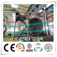China 120T Cement Tank Welding Rotator , Pipe Welding Rotator For Tank And Vessel factory