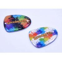 High End Epoxy Dome Stickers Magetic Ornament Iron Printing Colorful Logo