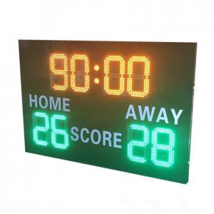 China Blue Color Wireless Football Scoreboard , Portable Digital Scoreboard Various Styles factory