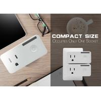120V 2.4Hz Wireless Wifi Plug Mini Smart Plug Switch With Timer , Remote Control