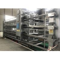 China poultry farming H type 4 tier layer chicken cage full automatic battery cage factory