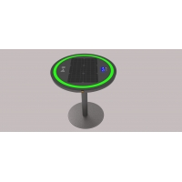 Buy cheap 30W 6.7V 20Ah Solar Power Charging Table With Ring Light from wholesalers