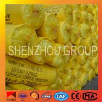 China other heat insulation materials sound proof high density glass wool blanket factory