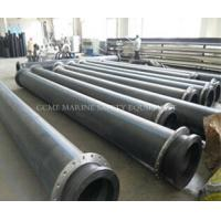 HDPE dredge pipe with FREE flanges