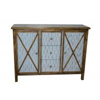 Buy cheap Antique Commercial Hotel Quality Furniture Wood Lobby Consoles With Three Drawers from Wholesalers