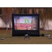 China Commercial Inflatable Movie Screen 210 D Reinforced Oxford Material factory