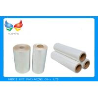 Buy cheap Water Soluble PVC Shrink Film Rolls High Shrinkage Ratio For Full Body Sleeves from Wholesalers