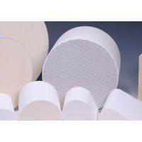 Cylindrical Honeycomb Ceramic Support Customize For Catalytic Converters