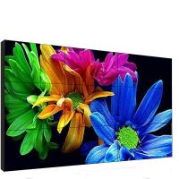 China 46 Inch Indoor Video Wall 3x3 3840*2160 Max Resolution Vivid Image Outline factory