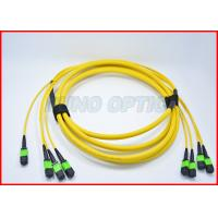 Buy cheap OS2 Fiber Optic Breakout Bone Trunk Cable MPO to MPO Single Mode 32 Core from Wholesalers