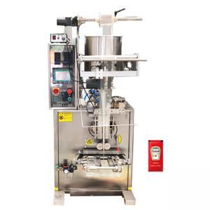 China Vertical Tomato Sauce Filling Machine , 220V 60Hz Automatic Sauce Filling Machine factory