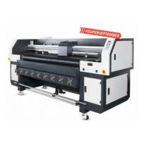 China Multi Color Hybrid UV Printer With Double DX5 Heads Printing Width 1800mm factory