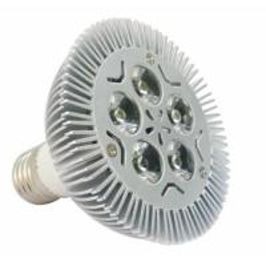 Buy cheap 5x1W high power LED spotlight/ downlight with E27 base and Machning housing Aluminum heatsink from Wholesalers
