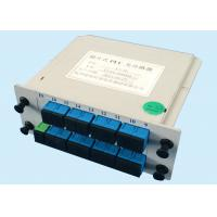 China PON networks 1*16 fiber optic coupler splitter Low Polarization Dependent Loss on sale