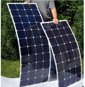 China 100 Watt Monocrystalline Solar Cell Panel Sunpower Strong Adhesive 2 Years Warranty factory