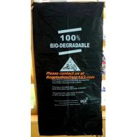 China wholesale En13432, certified cornstarch, made eco friendly, biodegradable, refuse sack factory