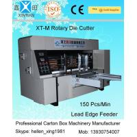 Buy cheap Double Roller Carton Making Machine With High Precision Of Die Cutting And Molding from Wholesalers
