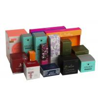 Quality Folding Biodegradable Cosmetic Gift Boxes Packaging Gifts Eco - Friendly For Women for sale