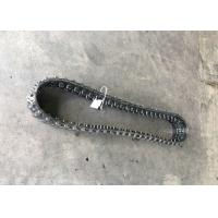 Buy cheap Black / Grey Lightweight Rubber Tracks , Indoor Mini Crawler Tracks Low Noise from wholesalers