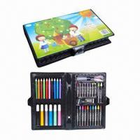 China Kid's nice drawing stationery set, durable and sturdy factory